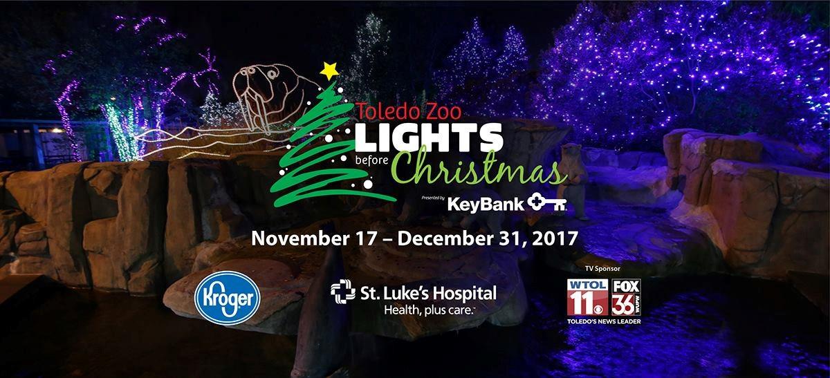 lights before christmas destination toledo - Toledo Zoo Lights Before Christmas