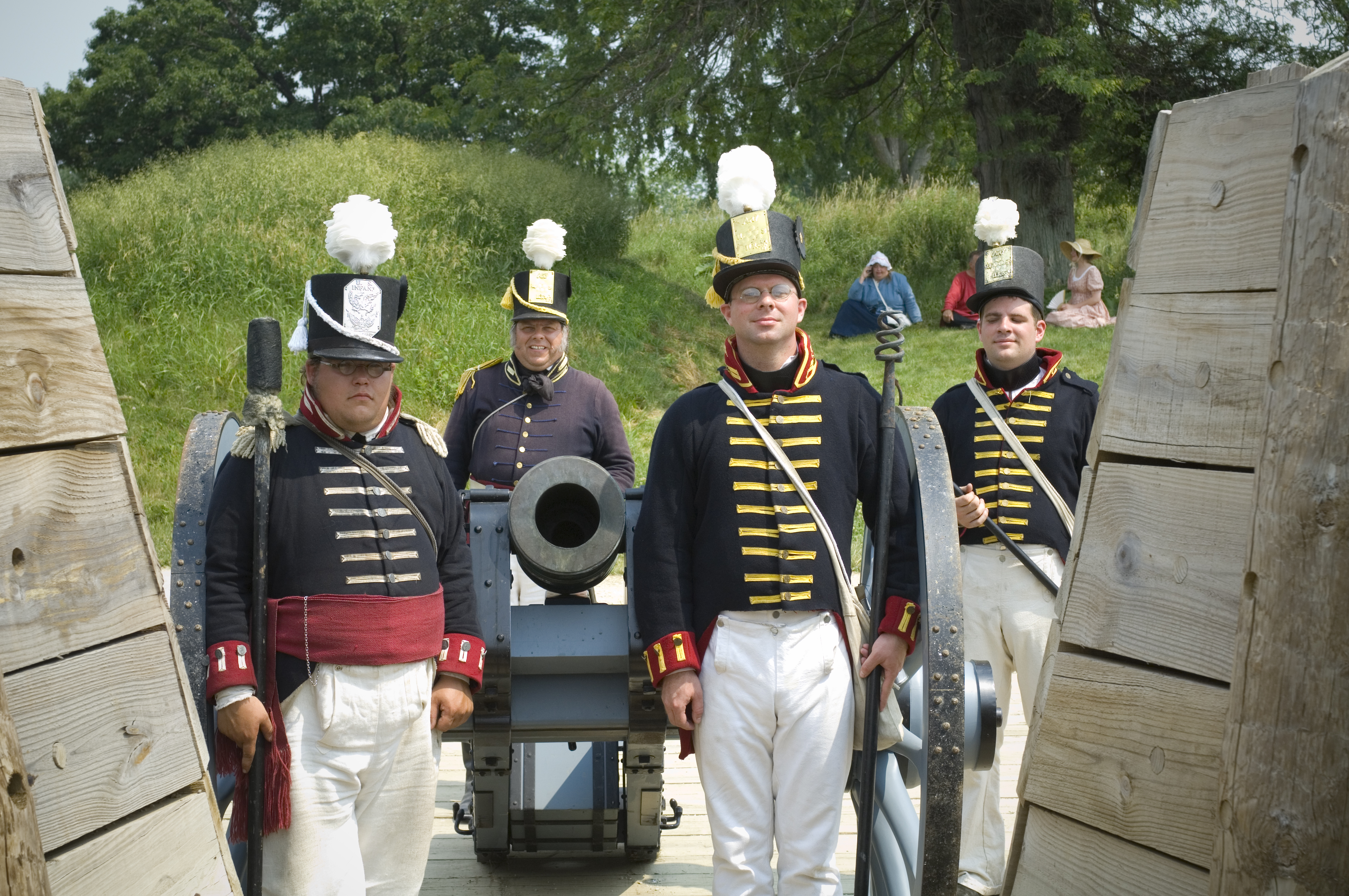Muster on the Maumee