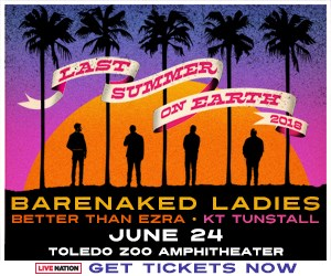 Select Barenaked Ladies with special guests Better Than Ezra and KT Tunstall