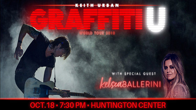 Keith Urban GRAFFITI U TOUR with Kelsea Ballerini