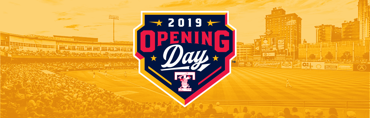 Toledo Mud Hens Opening Day - April 4, 2019