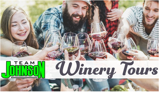 Team Johnson Winery Tours
