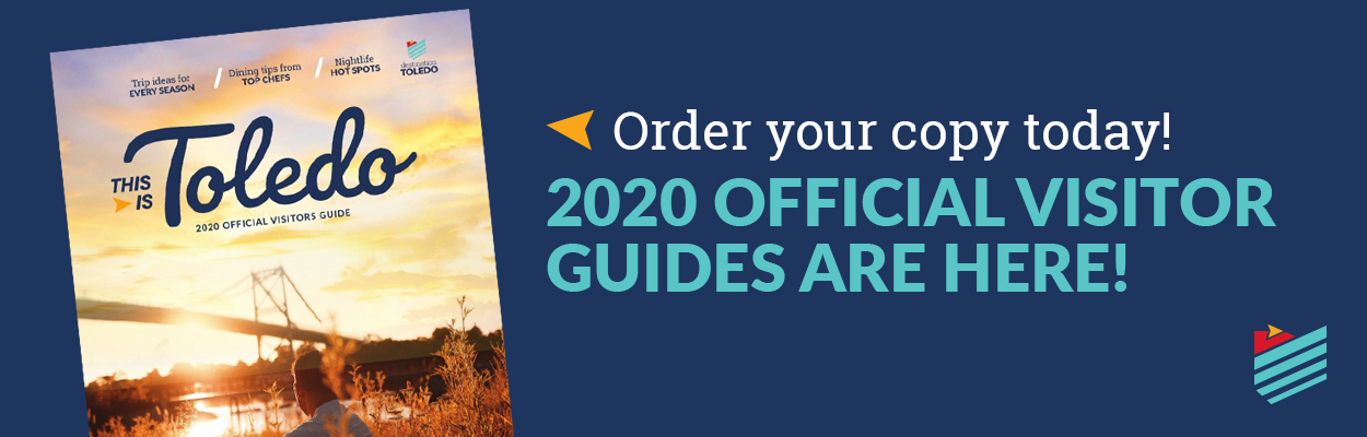 Request a copy of the 2021 Toledo Official Visitors Guide today!